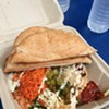 The Flying Falafel Vanquishes Hunger Pangs and Other Foes