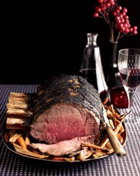 The prime rib in question, from the December Food & Wine. - FOOD & WINE