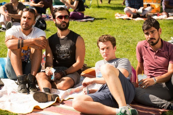 The proverbial Dolores Park BDay party - HBO