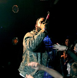 The punk-turned-rapper still lives with his mom in San Jose.