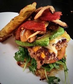 The Ramen burger. - TWITTER/NOMBE