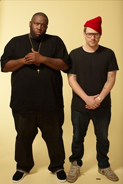 The rapper pairing of the year, right here.