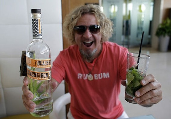The Red Rocker is a rum guy now. - AP PHOTO