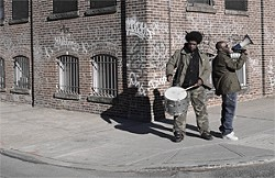 The Roots: Street-corner soapboxing.