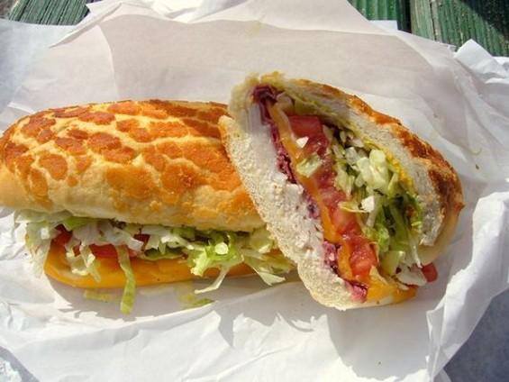 The Roxie Special, ham, mortadella, salami, cheese, and artichoke hearts ($5.99). - TORO E./YELP