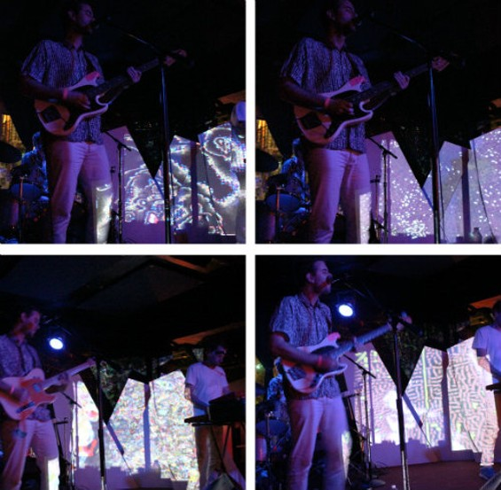 The Ruby Suns at Bottom of the Hill last night. All photos by the author.