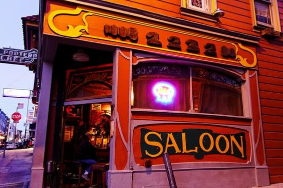 The Saloon on Grant. - CT YOUNG/SF WEEKLY FLICKR POOL