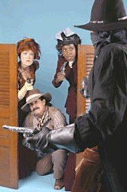 The San Francisco Mime Troupe mines the politics of - the Old West.