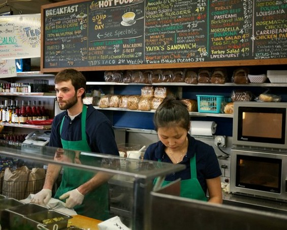 The sandwich counter at Ted's Market. - RËD/SF WEEKLY FILCKRSTREAM