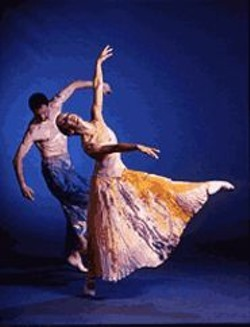 MARTY  SOHL - The seasons don't change much here except when - the Mark Foehringer Dance Project performs.