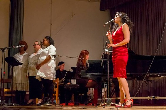 """PREVIEW CABARET OF """"SEVEN DEADLY PLEASURES"""" IN OCTOBER 2013. PHOTO BY TOM FOREMSKI"""