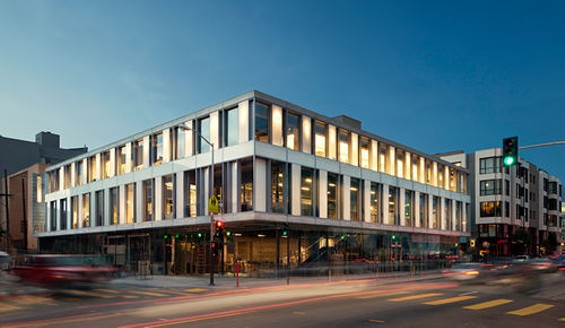 The SFJAZZ Center in Hayes Valley