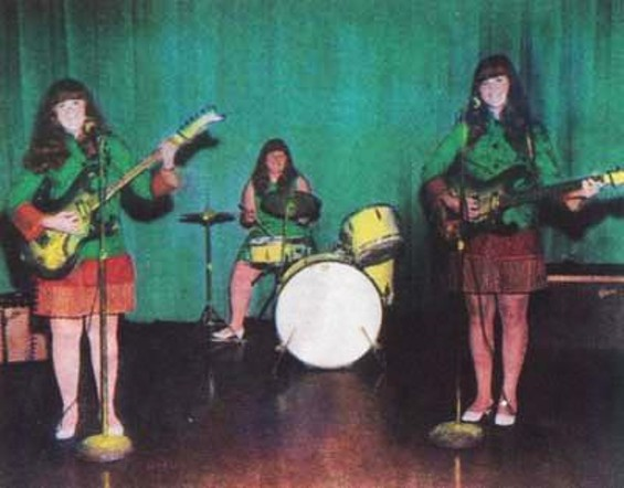 The Shaggs in 1968.