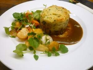 The shepherds' pie at Greens. - GREENS RESTAURANT