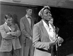 SUE  SELF - The Soul of Struggle: Christine Odera (as a U.N. delegate from Senegal) gives a passionate speech about condescension.