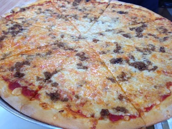 The Spicoli at the Pizza Place on Noriega. - TAMARA PALMER