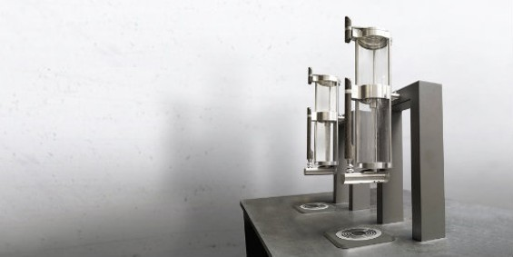 The Steampunk MOD 2.1, a modular single-cup brewing system. - ALPHA DOMINCHE