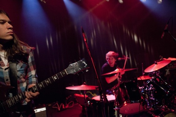 The Stone Foxes at the Independent last night. - JOSEPH SCHELL