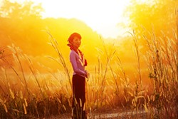 The sun sets on Burma and The Lady (Michelle Yeoh).