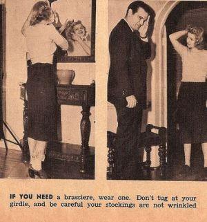 TIPS FOR SINGLE WOMEN, 1938 CHRIS WILD