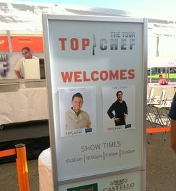 The Top Chef Tour's San Francisco stop. - JONATHAN KAUFFMAN