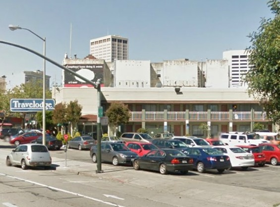 The Travelodge on Market and Valencia - GOOGLE STREETVIEW