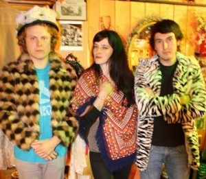The Ty Segall band, with Segall at left.