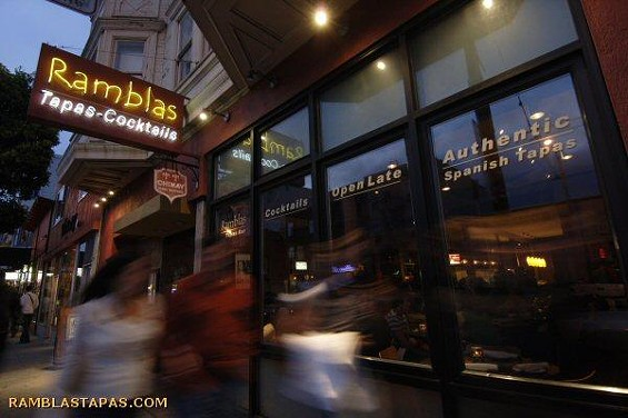 The Valencia Street tapas bar has had a rough couple of years. - JIM L./YELP