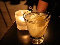 The version at Pisco Latin Lounge: From the Monkey Block to your lips. - KENN WILSON/FLICKR