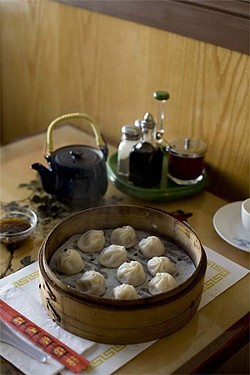 JEN SISKA - The very affordable Shanghai House steamed dumplings.