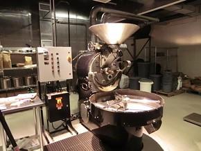The vintage Probat roaster. - ALEX HOCHMAN