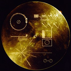 """The Voyager spacecraft's """"Golden Record."""""""