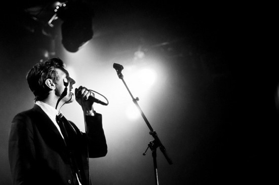 The Walkmen at the Independent on Friday. All photos by Chris Trewin.