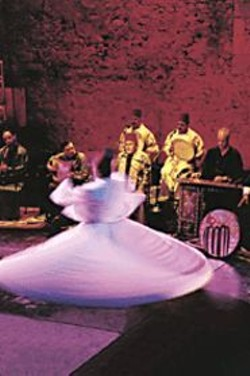 SABINE  CHATEL - The Whirling Dervishes of Damascus with - Ensemble al-Kind.