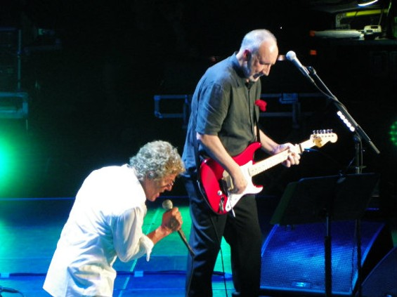 The Who at Oracle Arena - KEITH CAMPBELL