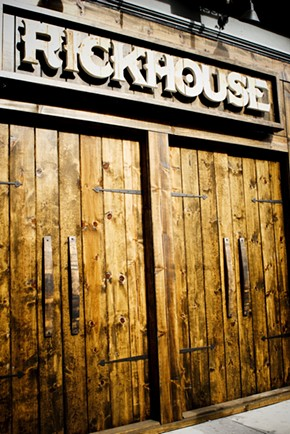 The woody majesty of Rickhouse in the FiDi. - WALLACE.CHANE/FLICKR