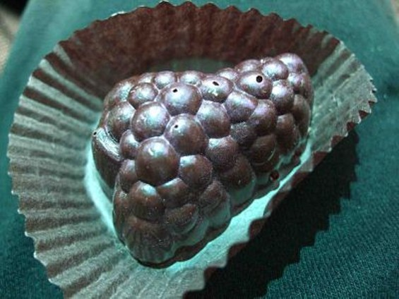 The Xocolate Bar's idea of fresh produce. - TAMARA PALMER