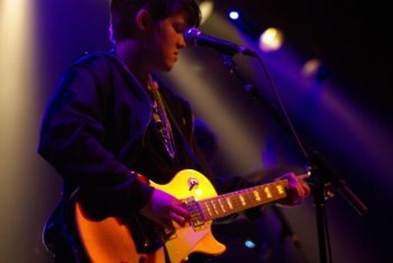 The xx at the Independent in November - IAN S. PORT
