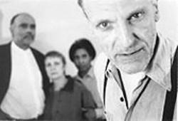 JULIE M. RAMIREZ - Theater of Testimony: Nick Scoggin, with Mujahid Abdul-Rashid, Nancy Madden, and Jaxy Boyd.