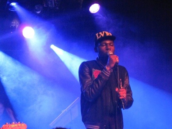 Theophilus London at Mezzanine on Friday. - NATHAN MATTISE