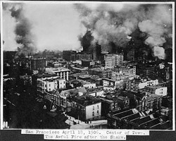 There's a 100 percent chance San Francisco will be hit by a quake -- in 1906