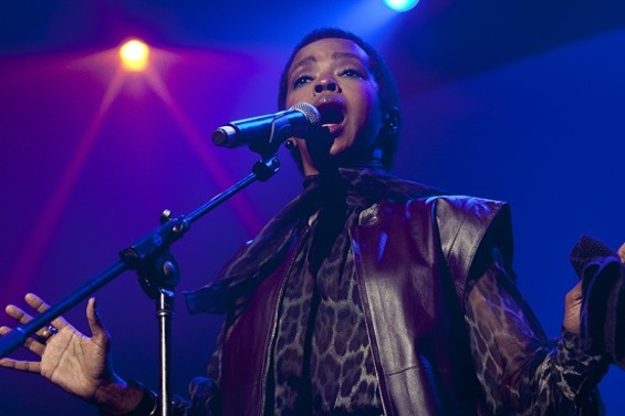 There's a new Lauryn Hill song out this week. Really.