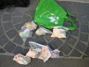There's rocks in those bags - SFPD