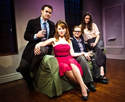JESSICA PALOPOLI - They only look nice: The cast of Becky Shaw.