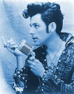 """""""Think globally, act Elvisly,"""" says El Vez, performing a Cinco de Mayo show at the Great American."""
