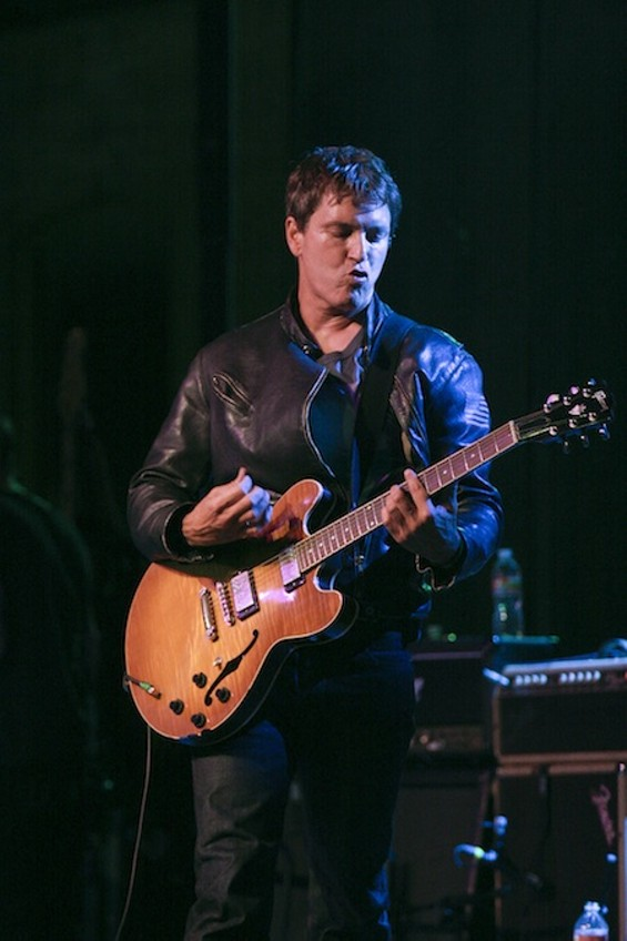 Third Eye Blind's Stephan Jenkins onstage in Austin. - CHRISTOPHER VICTORIO