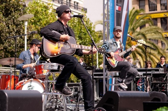 Third Eye Blind's Stephan Jenkins performing in S.F. last year. - GIL RIEGO