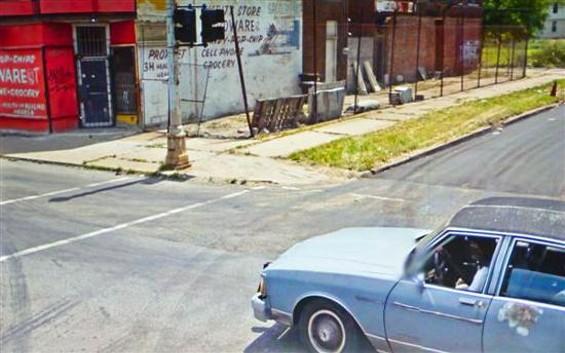 This image was shot in Detroit. - DOUG RICKARD