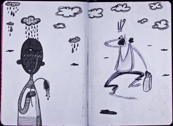 """""""This is a sketchbook"""" by Klbc 