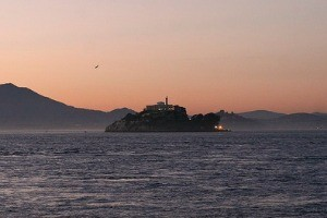 This is about as close as you'll get to Alcatraz -- for awhile - CHRISTOPHER VICTORIO